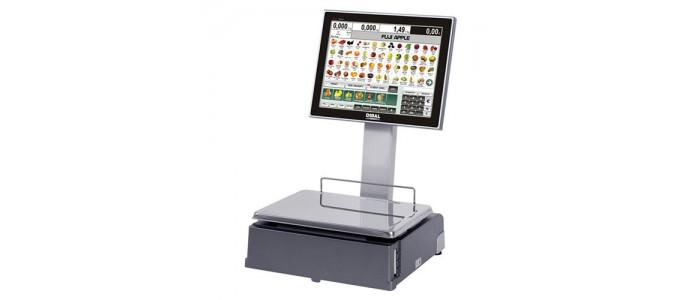 """Весы с чекопечатью PC-based весы Dibal CS-1100 W с двумя 15"""" TFT экранами"""